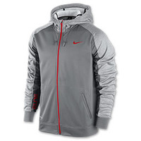 Men's Nike Elite Stripe Performance Fleece Full-Zip Hoodie