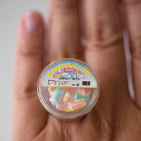 Kawaii Miniature Food Ring A Box of by fingerfooddelight on Etsy