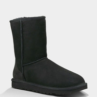 Ugg Classic Short Womens Boots Black  In Sizes