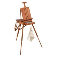 Jullian Original French Style Sketch Box Easel - Artist Easels at Hayneedle