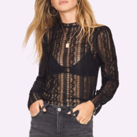 All About That Lace Top