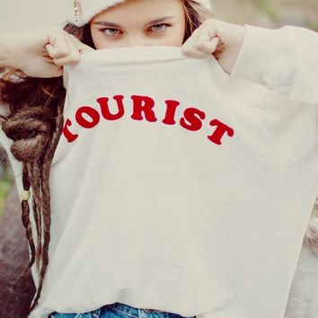 Wildfox Couture Tourist Kim Sweater in Vintage Lace