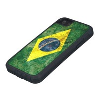 Flag of Brazil iPhone 5 Cases