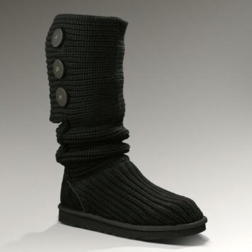 UGG Classic Cardy Boots 5819 Black