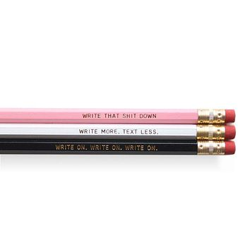 Writing Set of Pencils