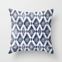 BOHOCHIC TRIBALISM Throw Pillow by Nika