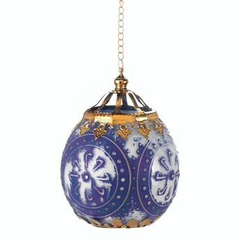 Antiquity Moroccan Round Hanging Candle Lamp