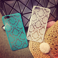 Phone case for Apple iphone 6 case 4.7 inch iphone6 Plus Cases 5.5 inch Vintage Flower Pattern Fashion Luxury phone Back Cover