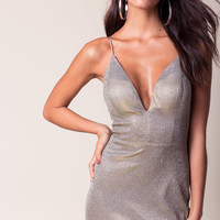 Night Shimmers Bodycon Dress