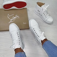 Christian Louboutin Sneakers Fashion Shoes