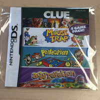 Original Instruction Manual - Clue / Mouse Trap / Perfection / Aggravation - Nintendo DS (Pre-owned)