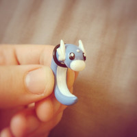 Pokemon Dratini Gauge / Plug Earring - Custom sizes
