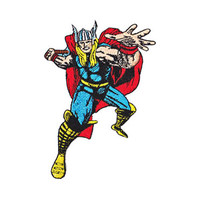 Thor Retro Iron-On Patch
