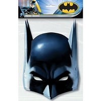 Batman Party Masks, 8ct