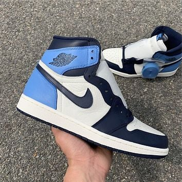 Air Jordan 1 Obsidian 555088-140