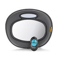 Brica Day and Night Light Musical Auto Mirror