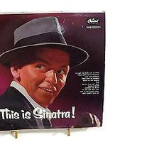 Frank Sinatra Vinyl Album This Is Sinatra ! Capitol Records T-768.High Fidelity