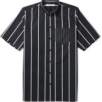Givenchy - Columbian-Fit Button-Down Collar Striped Cotton Shirt