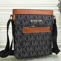 MK Women Shopping Bag Leather Satchel Crossbody Handbag Shoulder Bag [54591094796]