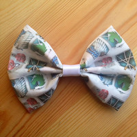 Attack On Titan Inspired Hair Bow // Bow tie.