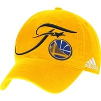 adidas Men's 2016 Western Conference Champions Golden State Warriors Gold Adjustable Hat