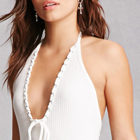 Honey Punch Halter Bodysuit