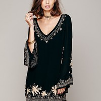 Free People Skyfall Embroidered Dress