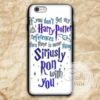 If You Don't Get My Harry Potter iPhone 4/4S, 5/5S, 5C Series, Samsung Galaxy S3, Samsung Galaxy S4, Samsung Galaxy S5 - Hard Plastic, Rubber Case