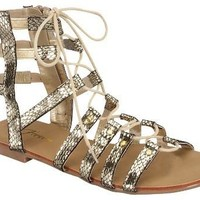 Solid Gold Dancer Gladiator Sandals