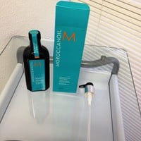 Moroccanoil Oil Treatment Hair Oil with Pump 6.8 oz: Amazon.ca: Beauty