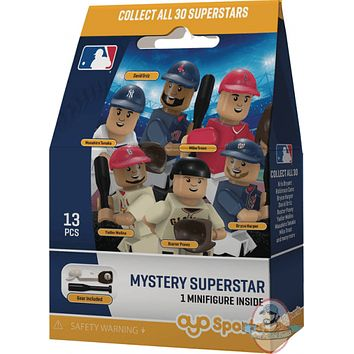MLB Mystery Superstar Minifigure by Oyo Sports