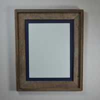 "Gray reclaimed wood 11""x14"" reclaimed wood photo frame traditional style"