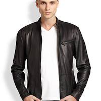 Michael Kors: Leather Moto Jacket