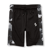 Boys PLACE Sport Side Print Basketball Shorts | The Children's Place