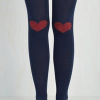 Vintage Inspired Offer your Affection Thigh Highs Size OS by ModCloth