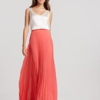 Halston Heritage Pleated Maxi Skirt - Shorts & Skirts - Sale - Women's - Bloomingdale's