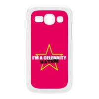 Celebrity Hater White Hard Plastic Case for Galaxy Ace 3 by Chargrilled