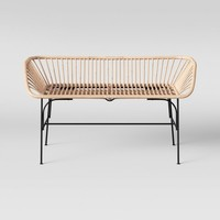 Lupini Rattan Bench - Opalhouse™