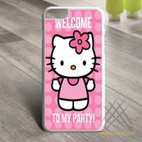 Hello Kity Welcome to My Party case for iPhone, iPod and iPad