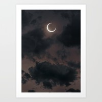 Cryptic Art Print by Soaring Anchor Designs
