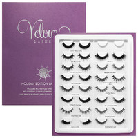Velour Silk Lashes Holiday Edition Lash Book