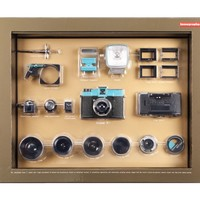 Diana Deluxe Kit Medium Format Camera with Accessories