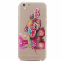 Hollow Out Elephant Case Cover for iphone 5s 6 6s Plus + Gift Box 41