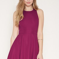 Cutout-Back Fit and Flare Dress | Forever 21 - 2000171500