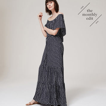 French Hen Maxi Dress