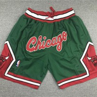 Just Don Chicago Bulls Blazers Basketball Sports Shorts - Best Deal Online