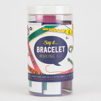 NPW Say It Bracelet Making Kit | Toys & Novelties