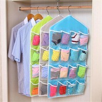 16-Pockets Rack Storage Organizer