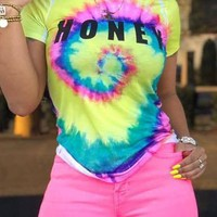 Honey Love Tie-Dye Tee