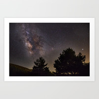 Milkyway at the mountains. Saggitarius Antares and Rho Ophiuchus by